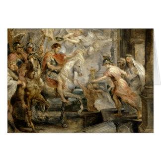 Peter Paul Rubens -Triumphant Entry of Constantine Card