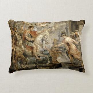 Peter Paul Rubens -Triumphant Entry of Constantine Decorative Pillow