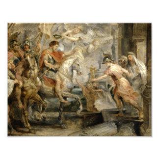 Peter Paul Rubens -Triumphant Entry of Constantine Photograph