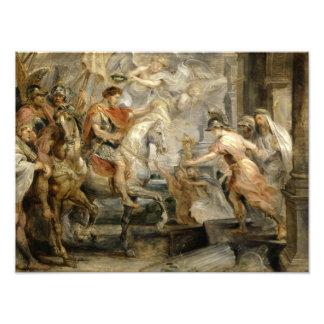 Peter Paul Rubens -Triumphant Entry of Constantine Photographic Print