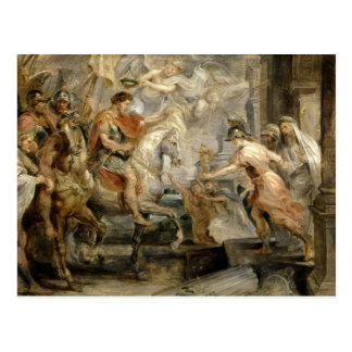 Peter Paul Rubens -Triumphant Entry of Constantine Postcard