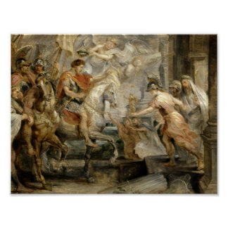 Peter Paul Rubens -Triumphant Entry of Constantine Poster