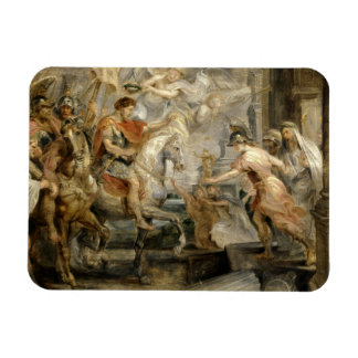 Peter Paul Rubens -Triumphant Entry of Constantine Rectangular Photo Magnet