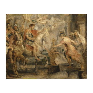 Peter Paul Rubens -Triumphant Entry of Constantine Wood Canvases