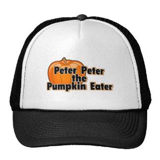 Peter Peter The Pumpkin Eater Hats