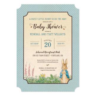 Peter Rabbit | Boy Baby Shower Card