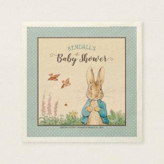 Peter Rabbit | Boy Baby Shower Napkin