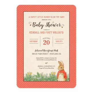 Peter Rabbit - Flopsy | Girl Baby Shower Card