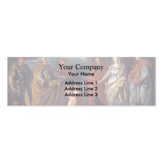 Peter Rubens- St. George,Martyrs Maurus, Papianus Business Card Templates