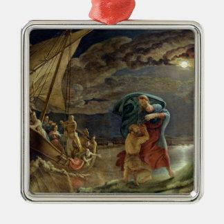 Peter Walks on Water, 1806 Metal Ornament