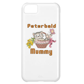 Peterbald Cat Mom Cover For iPhone 5C