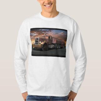"""Peterbilt """"Duel Truck"""" Long Sleeve Tee Shirt"""