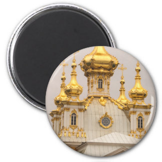 Peterhof Palace and Gardens St. Petersburg Russia 2 Inch Round Magnet