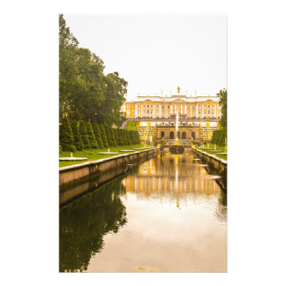 Peterhof Palace and Gardens St. Petersburg Russia Customized Stationery