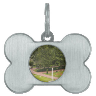 Peterhof Palace and Gardens St. Petersburg Russia Pet ID Tag