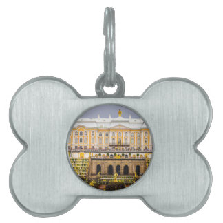 Peterhof Palace and Gardens St. Petersburg Russia Pet ID Tags