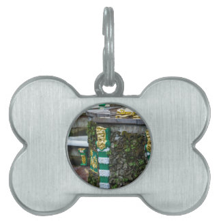 Peterhof Palace and Gardens St. Petersburg Russia Pet Name Tag