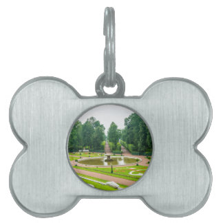 Peterhof Palace and Gardens St. Petersburg Russia Pet Name Tags