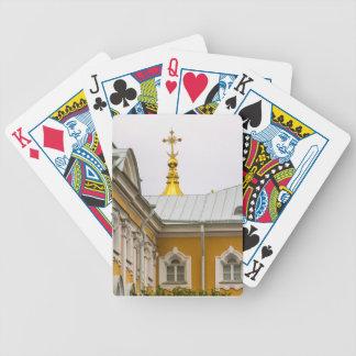 Peterhof Palace and Gardens St. Petersburg Russia Poker Deck