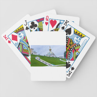 Peterhof Palace and Gardens St. Petersburg Russia Poker Deck