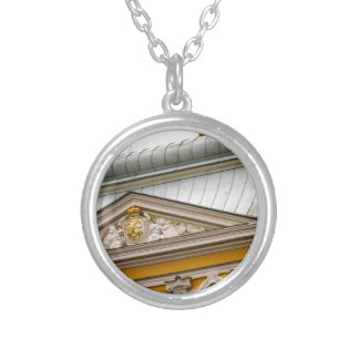 Peterhof Palace and Gardens St. Petersburg Russia Silver Plated Necklace