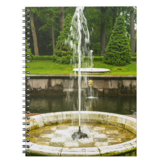 Peterhof Palace and Gardens St. Petersburg Russia Spiral Note Books