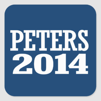 PETERS 2014 STICKERS