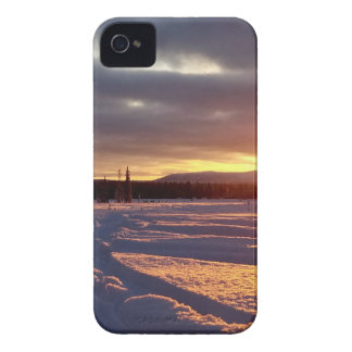 Petersville Sunset Alaskan iPhone 4 Case
