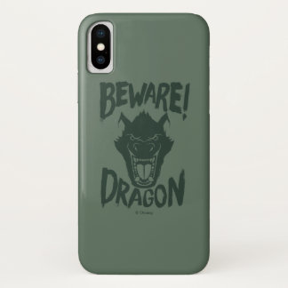 Pete's Dragon | Beware! Dragon iPhone X Case