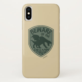 Pete's Dragon | Beware of the Dragon iPhone X Case