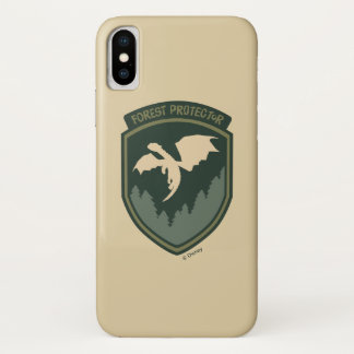 Pete's Dragon | Forest Protector Badge iPhone X Case