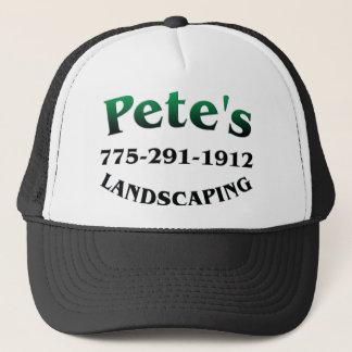 Petes Landscaping Trucker Hat