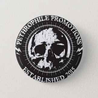 Pethrophile Promotions Heavy Metal Button