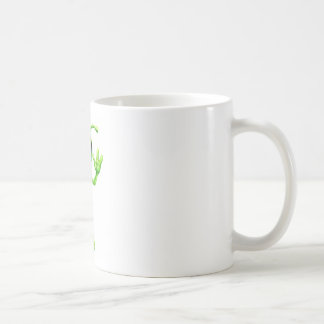 Petit alien d'homme vert mugs