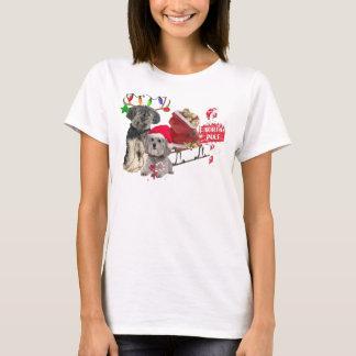 Petit Basset Griffon Vendeen North Pole T-Shirt