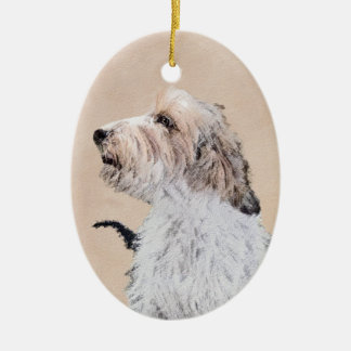 Petit Basset Griffon Vendéen Painting - Dog Art Ceramic Ornament