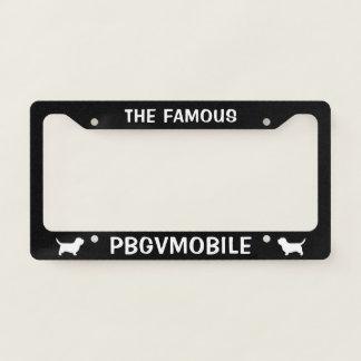 Petit Basset Griffon Vendeen PBGVmobile Custom License Plate Frame