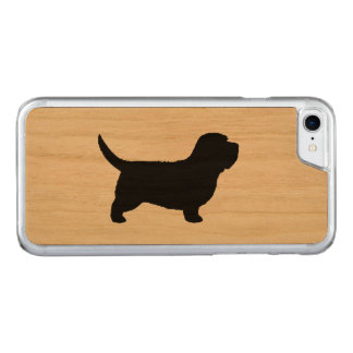 Petit Basset Griffon Vendeen Silhouette Carved iPhone 8/7 Case