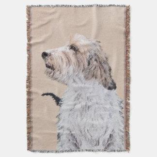Petit Basset Griffon Vendéen Throw Blanket