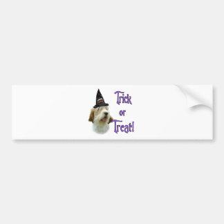 Petit Basset Griffon Vendeesn Trick Bumper Sticker