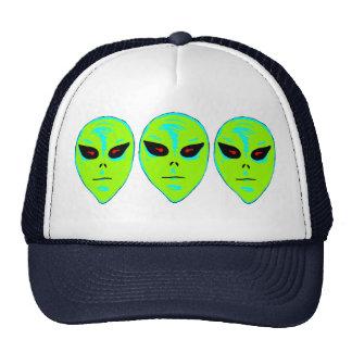 Petit chapeau d'hommes verts casquettes de camionneur