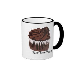Petit gâteau de chocolat mug ringer