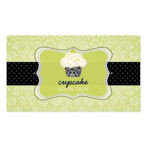 Petit gâteau/pâtisserie de PixDezines Keylime Cartes De Visite Personnelles