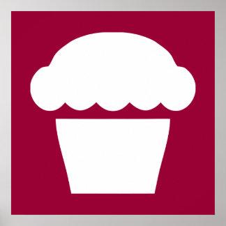 petit gâteau simple poster
