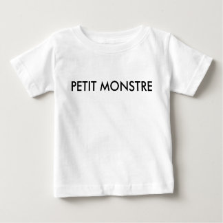 Petit monstre - French line for kids T Shirts