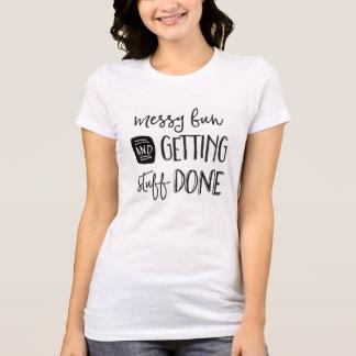 Petit pain et substance malpropres d'obtention t-shirt