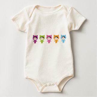 Petit pullover de bébé mignon body pour bébé