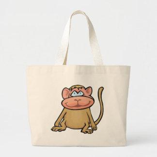 Petit singe sacs fourre-tout