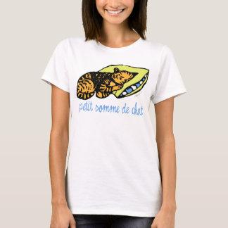 Petit somme de chat - Cat Nap T-Shirt