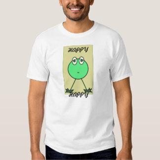 Petit T-shirt vert du monstre des hommes